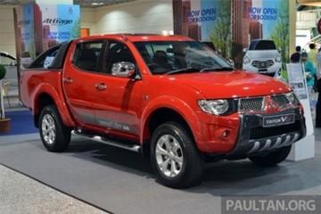 Xe bán tải Triton thế hệ mới sẽ ra mắt trong năm nay