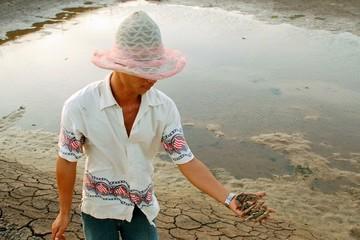 Bạc Liêu: Hơn 1.000ha đất nuôi tôm bị hoang hóa vì thiếu nước
