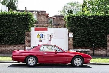 Ferrari coupe biến thành xe bán tải