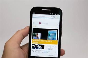 Smartphone giá rẻ mới của Motorola về Việt Nam