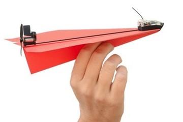 Máy bay giấy điều khiển bằng smartphone