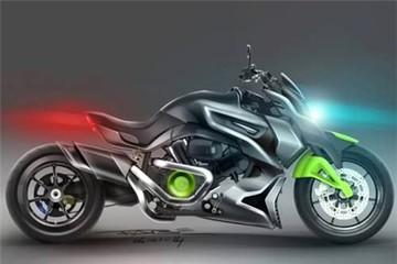 Hyosung ST7 Cruiser concept - xe Hàn tham vọng đấu Ducati