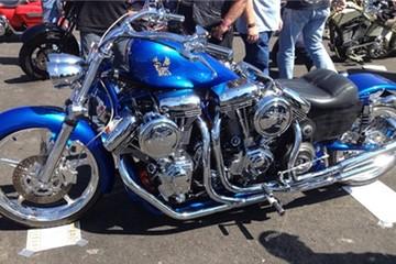 Môtô khủng với 4 động cơ Harley-Davidson