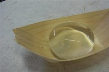 Kì lạ chiếc bánh hình giọt nước
