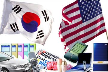 Kinh tế Mỹ, Hàn Quốc sáng sủa