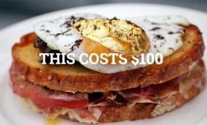Có gì trong chiếc bánh Sandwich đặc biệt giá 2,1 triệu đồng ?