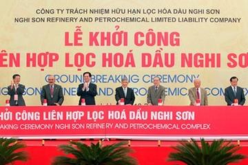 Dự án lọc hóa dầu Nghi Sơn: