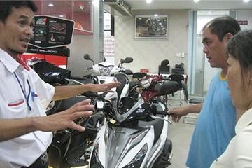 Hết thời kinh doanh xe máy?