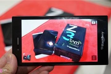 BlackBerry Z3 chính thức ra mắt tại VN với giá 4,59 triệu