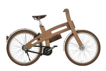 Khám phá chiếc xe đạp gỗ chạy điện đầu tiên