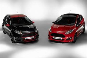 Lạ lẫm bộ đôi Ford Fiesta EcoBoost đỏ-đen