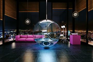 Bathspher - bồn tắm thông minh độc nhất vô nhị hình quả cầu