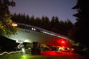 Boeing 727 – ngôi nhà tiện nghi giữa khu rừng