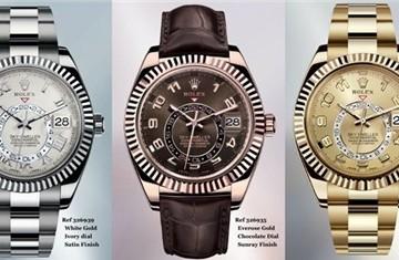 Sky-Dweller 2014: Kỷ nguyên mới của đồng hồ Rolex