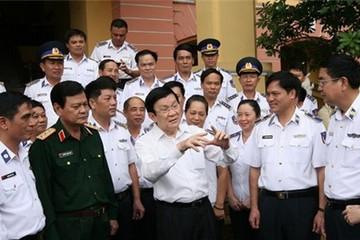 Chủ tịch nước: Khó khăn nào cảnh sát biển cũng phải hoàn thành nhiệm vụ