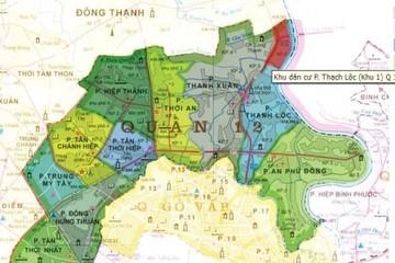 Tp.HCM quy hoạch phân khu khu 2, phường Thạnh Xuân