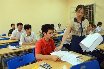 Gần 600.000 thí sinh bắt đầu thi đại học đợt 2
