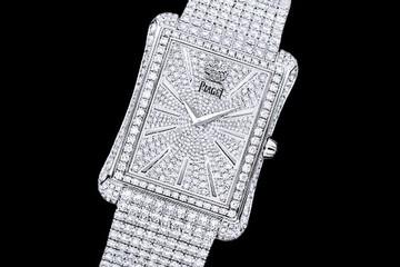 Chiếc đồng hồ nào được nạm...nhiều kim cương nhất ?