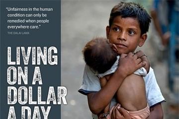 Cuộc sống của những con người không kiếm nổi 1 đô la mỗi ngày
