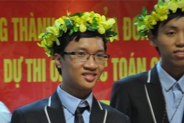 Cậu bé lặp lại thành tích của GS Ngô Bảo Châu