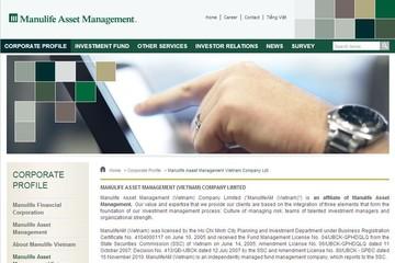 Quản lý quỹ Manulife Việt Nam lỗ 3,1 tỷ đồng 6 tháng