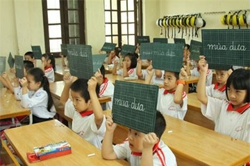 Không dùng điểm số đánh giá HS tiểu học: Giáo viên ngán ngẩm
