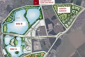 Gamuda dừng xây khu B công viên lớn nhất Hà Nội