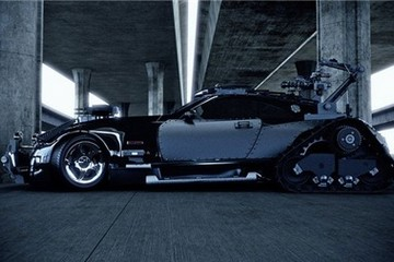 Xe 8 triệu USD Maybach Exelero biến thành cỗ máy chiến tranh
