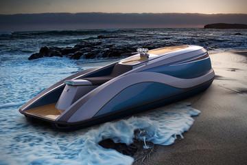 V8 Wet Rod - Moto nước siêu sang mới của Strand Craft