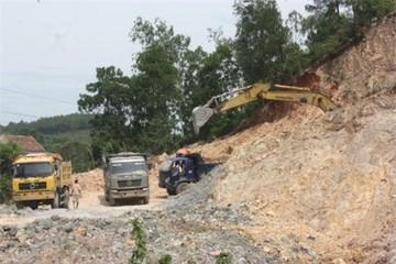 Vi phạm hậu cấp phép khai thác khoáng sản