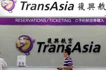 Cổ phiếu TransAsia lao dốc sau vụ máy bay rơi tại Đài Loan