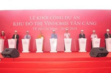 Vingroup đầu tư 30.000 tỷ xây dựng siêu dự án khu đô thị Vinhomes Tân Cảng