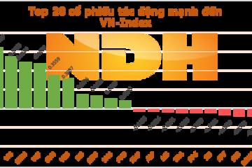 Ngày 29/7: MSN và VIC hỗ trợ VN-Index hơn 1 điểm
