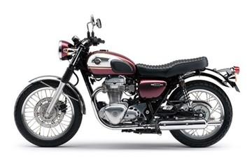 Kawasaki W800 2015: Ấn tượng hơn với màu sắc mới