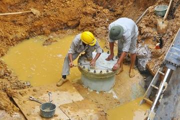 """Đường ống nước sông Đà số 2: Nhiều doanh nghiệp muốn """"thế chân"""" Vinaconex"""