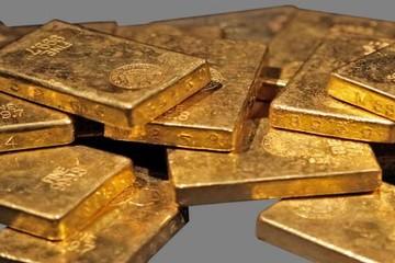 Giá vàng giảm, vẫn gần mức cao nhất trong 3 tuần