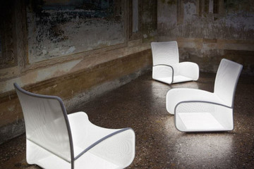 Nuvola di Luce - Chiếc ghế có khả năng phát sáng