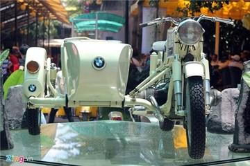 BMW R27 độ thành xe ba bánh cực độc tại Việt Nam