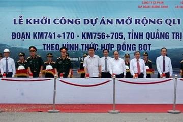 Quảng Trị: GPMB mở rộng Quốc lộ 1A đạt hơn 98%