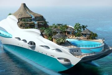 Yacht Island - Hòn đảo nhiệt đới trên siêu du thuyền