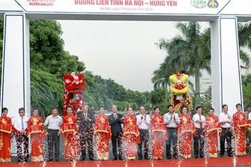 Khánh thành đường liên tỉnh Hà Nội - Hưng Yên