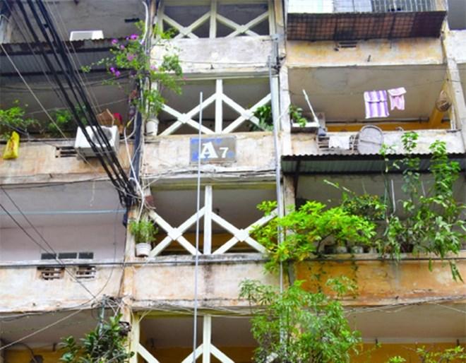 """Tập thể cũ nát Tân Mai sắp """"lột xác"""" thành cao ốc chung cư?"""