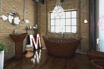 Độc đáo nhà tắm được làm bằng chocolate cao cấp của Bỉ