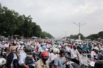 TPHCM: gần 6 triệu xe máy sẽ phải đóng phí đường bộ
