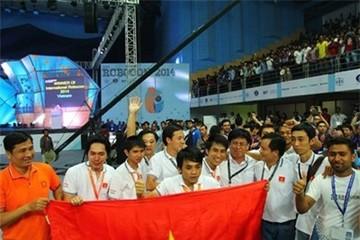 Việt Nam vô địch Robocon châu Á-Thái Bình Dương 2014