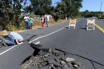 Động đất 6 độ Richte rung chuyển bắc California, 87 người nhập viện