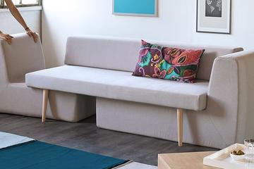 Ghế sofa thông minh cho không gian nhà hẹp