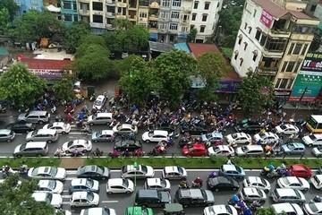 Hà Nội đột ngột cấm ôtô trên tuyến đường Xuân Thủy, Cầu Giấy trong 3 tháng