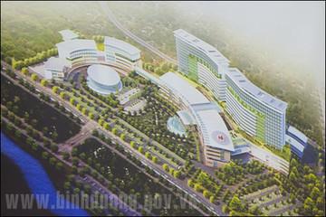 Bình Dương chi 2.300 tỷ đồng xây bệnh viện