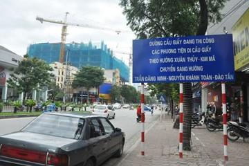 Lãnh đạo Sở Giao thông nói gì về cấm ô tô đi đường Xuân Thủy- Cầu Giấy